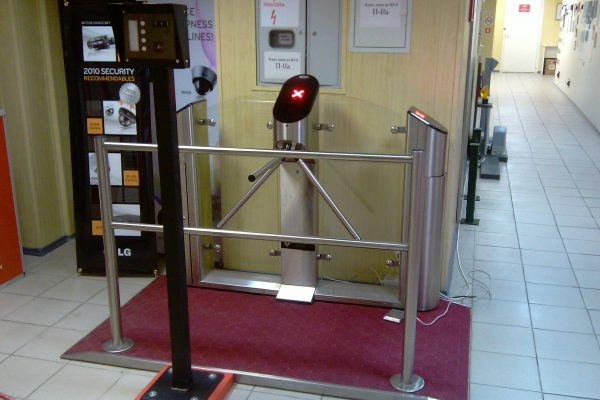 UK Turnstiles Tripod with Glass Infill